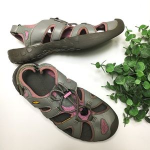 KEEN Vulcanized Hiking Swimming Outdoor Sandal